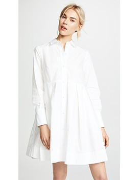 Poplin Box Pleat Shirtdress by Madewell