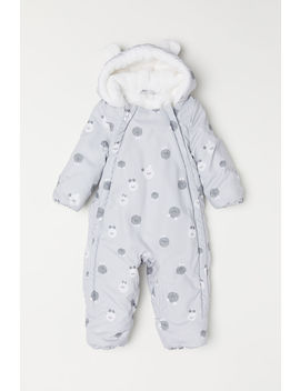 Padded Overall by H&M