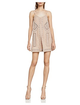 Hartley Embroidered Romper  by Bcbgmaxazria