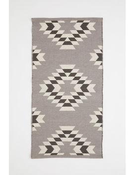 Jacquard Weave Wool Rug by H&M