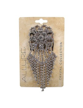 Allure Rhinestone Side Dangle Hair Comb by Bed Bath And Beyond