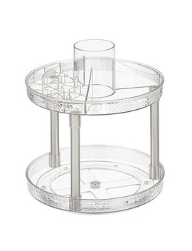 Inter Design® Vanity Organizer!™ Rain 2 Tier Spinner by Bed Bath And Beyond