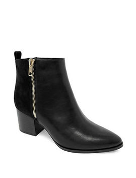 Aliza Block Heel Ankle Boots by Expression