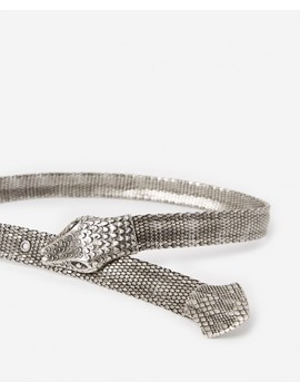Metal Belt With Snake Buckle Metal Belt With Snake Buckle by The Kooples