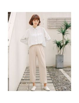 Crop Wide Leg Pants by Somm