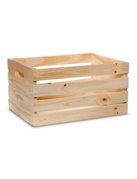 Hand Made Modern   Wooden Crate   Pine by Shop All Hand Made Modern