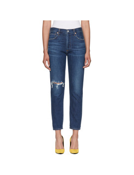 Blue Liya Classic Jeans by Citizens Of Humanity