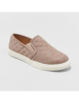 Women's Reese Wide Width Slip On Sneakers   Mossimo Supply Co.™ by Shop All Mossimo Supply Co.