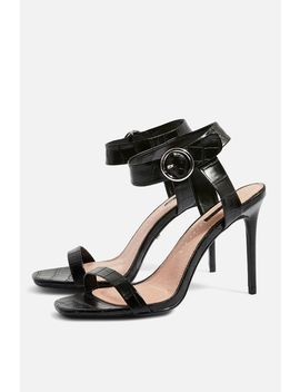**Wide Fit Ria Two Part Sandals by Topshop