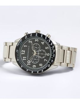 Metal Chrono Analog Watch by Aeropostale