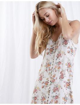 Midweek Blooms Button Up Dress by 2020 Ave