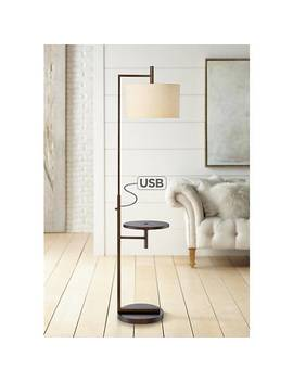 Mesa Tray Table Floor Lamp With Usb Port by Lamps Plus