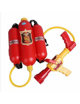 Remeehi Summer Toys For Kids Fire Extinguisher Backpack Water Gun Toys Backpack Toy by Amazon