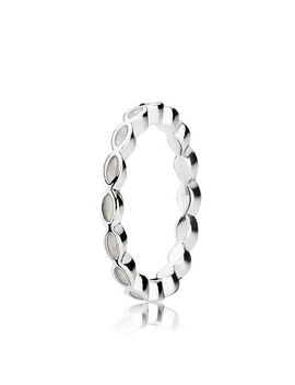 Better Together Stackable Ring, White Enamel by Pandora