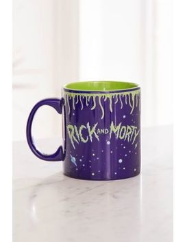 Rick And Morty Space Mug by Urban Outfitters