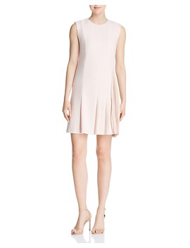 Pleat Detail Day Dress by Theory