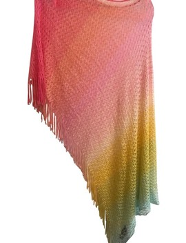 Multicolor Des D4942 Rs Poncho/Cape by Missoni