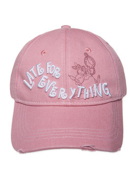 White Rabbit ''late For Everything'' Baseball Cap For Adults   Alice In Wonderland by Disney