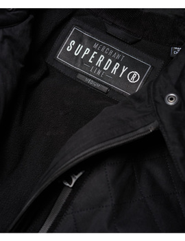 City Microfibre Quilted Jacket by Superdry
