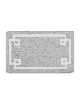 Madison Park Evan 20 Inch X 30 Inch Bath Rug In Grey by Bed Bath And Beyond