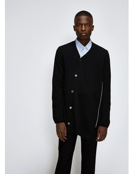 Wool Cardigan by Comme Des Garcons Homme Plus