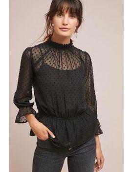 clancy-clip-dot-blouse by en-elly