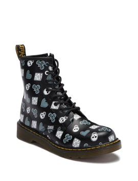 Delaney Air Wair Boot (Big Kid) by Dr. Martens