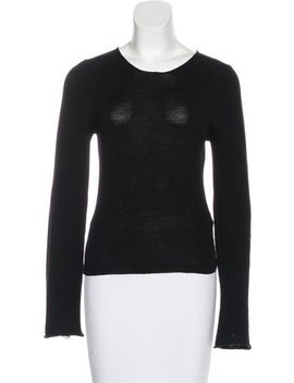 Ann Demeulemeester Wool Long Sleeve Top by Ann Demeulemeester