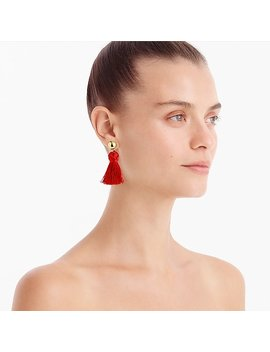 Ball And Tassel Earrings by J.Crew