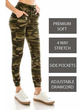 Always Women Drawstrings Jogger Sweatpants   Premium Soft Stretch Pockets Pants by Always