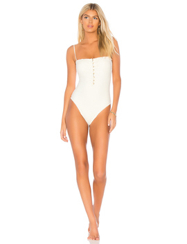 Scales Button One Piece by Vix Swimwear
