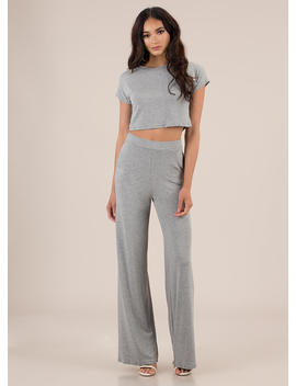 My Comfort Zone Top And Pant Set by Go Jane