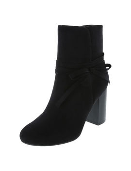 Women's Valencia Block Heel Boot by Learn About The Brand Christian Siriano For Payless