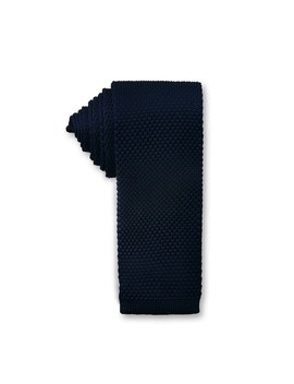 6cm Plain Knitted Tie by Ganton