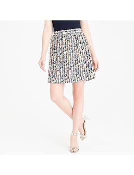 Printed Mini Skirt by J.Crew