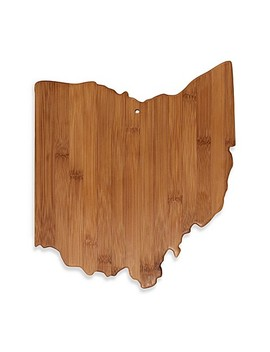 Totally Bamboo Ohio State Shaped Cutting/Serving Board by Bed Bath And Beyond