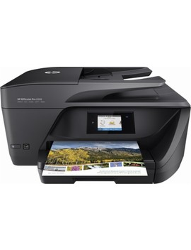 Office Jet Pro 6968 Wireless All In One Instant Ink Ready Printer   Black by Hp