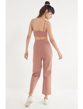 Uo Striped Wide Leg Pant by Urban Outfitters