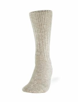 100 Percents Pure Wool Socks   Women, Natural Gray by Cleverbrand