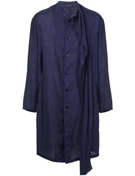 Yohji Yamamotostole Coathome Men Yohji Yamamoto Clothing Single Breasted Coats by Yohji Yamamoto