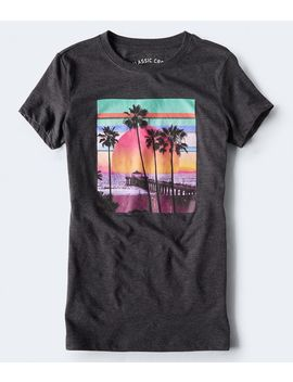 Beach Sunset Graphic Tee by Aeropostale
