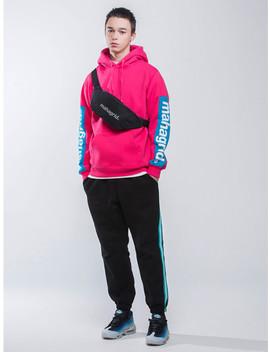 Line Jogger Sweatpants Black by Mahagrid