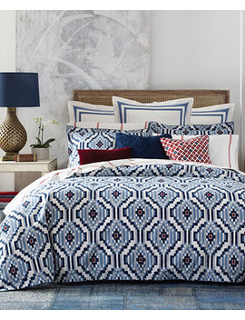 Closeout! Home Ellis Island Ikat Bedding Collection by Tommy Hilfiger