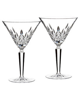 Stemware, Lismore Martini Glasses, Set Of 2 by Waterford