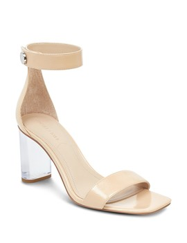 Women's Lexx Patent Leather & Lucite High Heel Sandals  by Kendall And Kylie