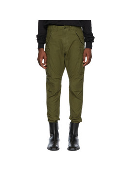 Green Surplus Military Cargo Pants by R13