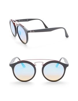 49mm Phantos Aviator Sunglasses by Ray Ban