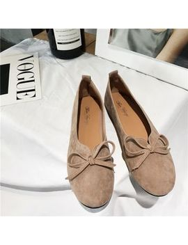 Bow Accent Flats by Hipsole