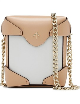 Micro Pristine Crossbody Bag With Chain by Manu Atelier