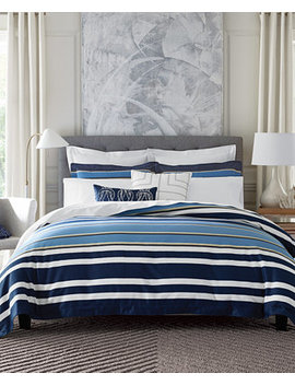 Closeout! Robinson Stripe Full/Queen Comforter Set by Tommy Hilfiger